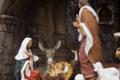 キリスト降誕の再現シーンのステージ