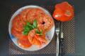 ジャイアント・トマトの活き作り風