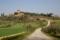 春のトスカーナの風景