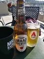 ギリシャシードルとビール