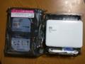 ファイルサーバー HDD交換