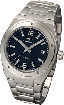 腕時計 IWC インジュニア IW322701 メンズウォッチ (ブラック文字盤)