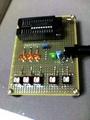 エフェクトループプログラマ確認基板(PIC - PIC16F84A)