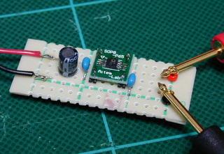 2.5V±0.003V基準電圧発生器