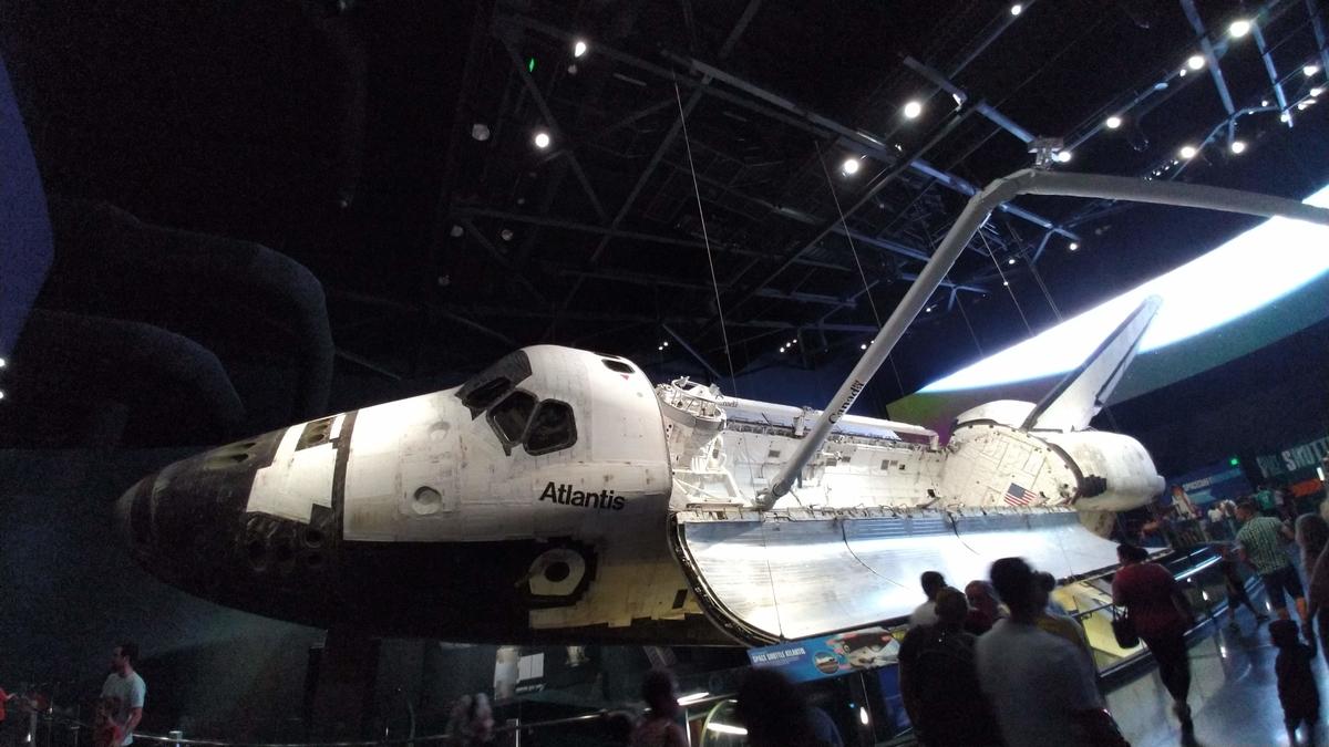 スペースシャトル:アトランティス