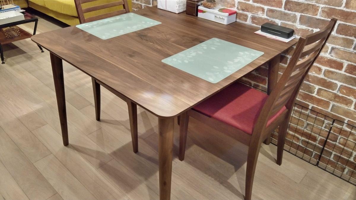 大塚家具シネマ2ダイニングテーブル