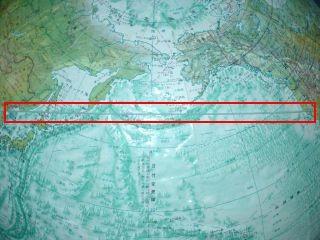 テポドン2予想飛翔コース