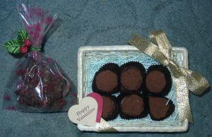 バレンタインデーの手作りチョコレート