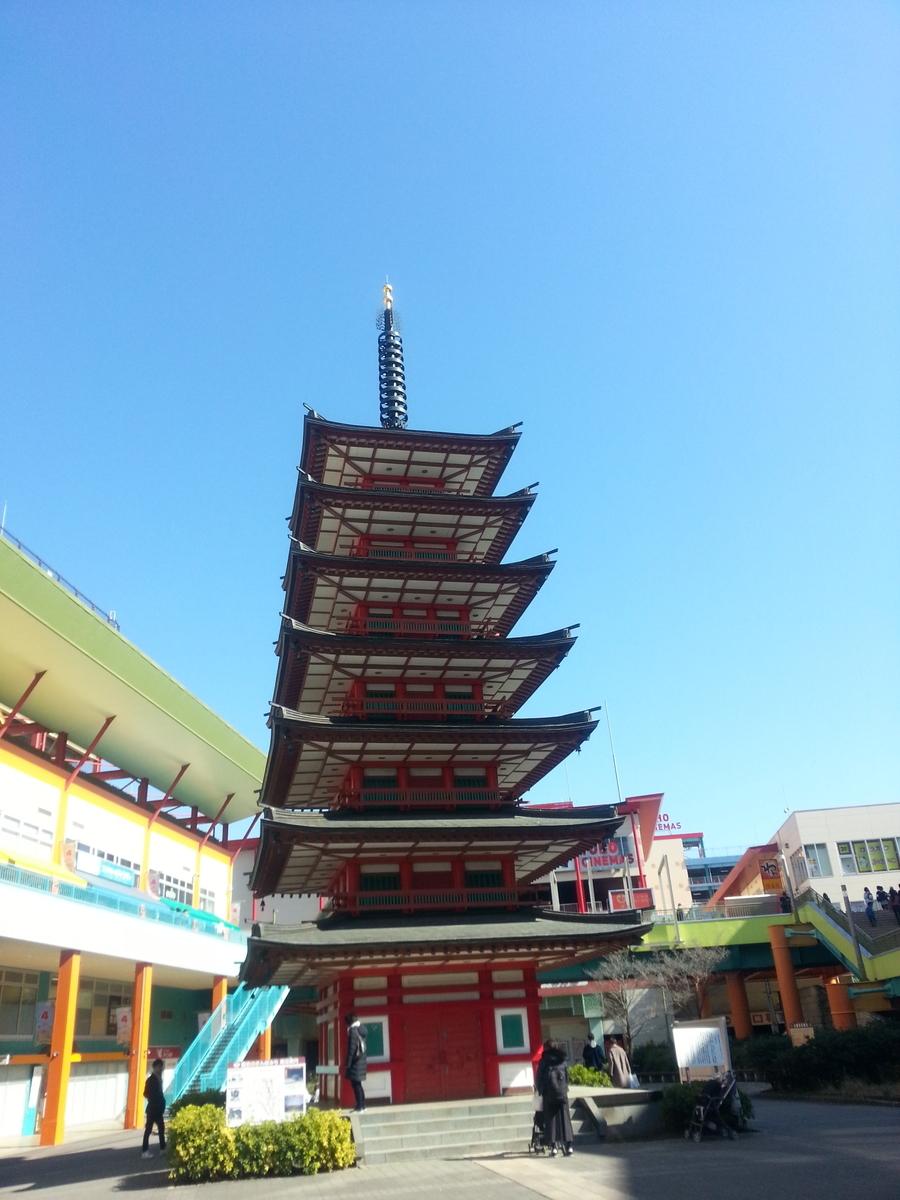 七重の塔の写真