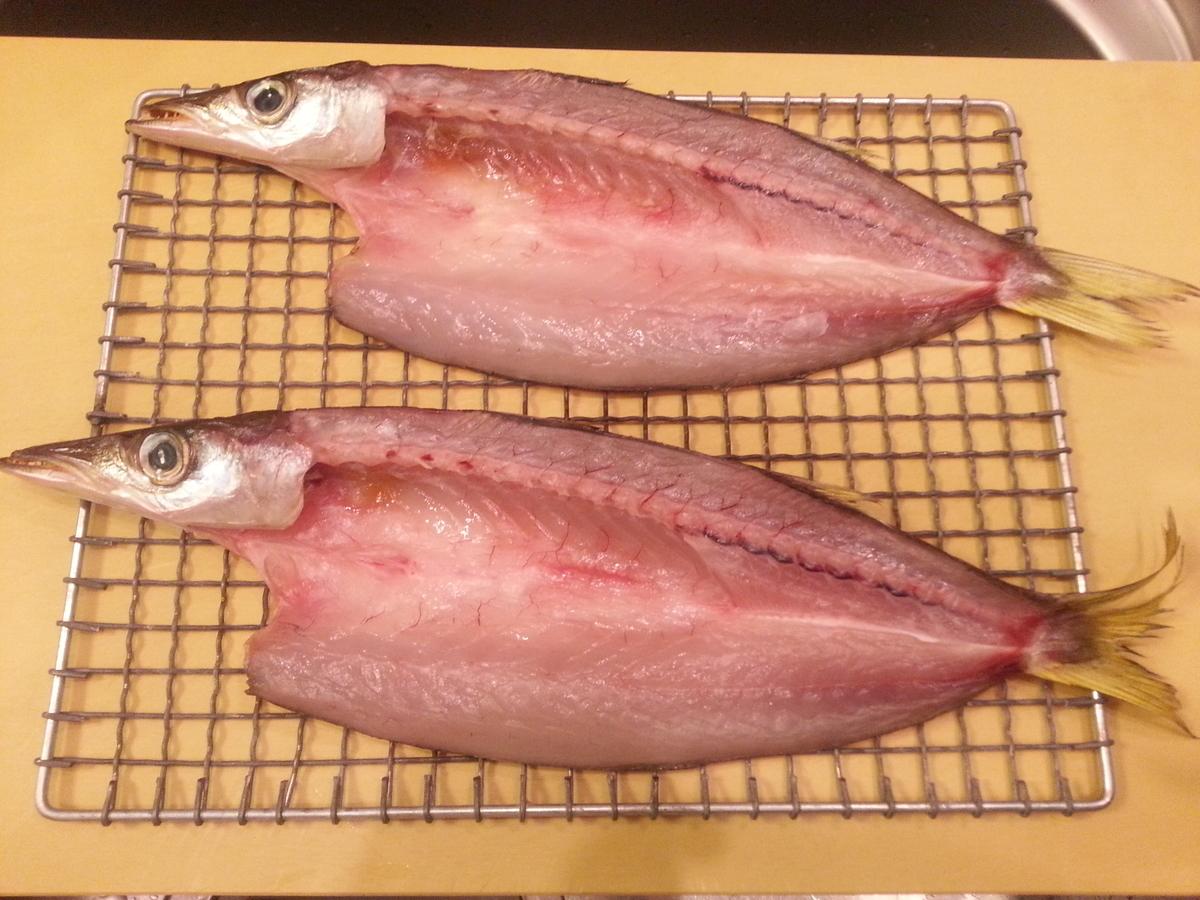 乾燥した魚の写真