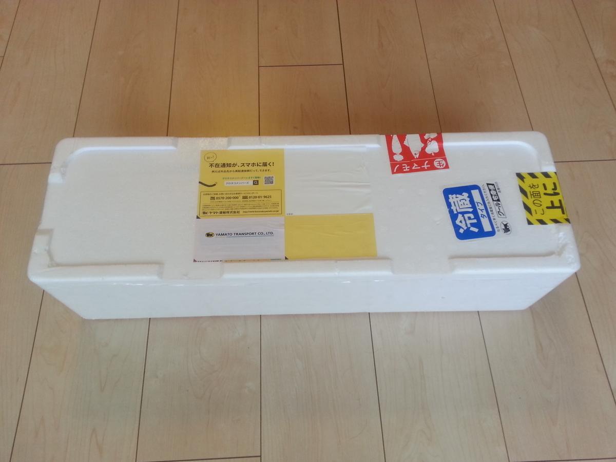 津本式 シマアジ 箱