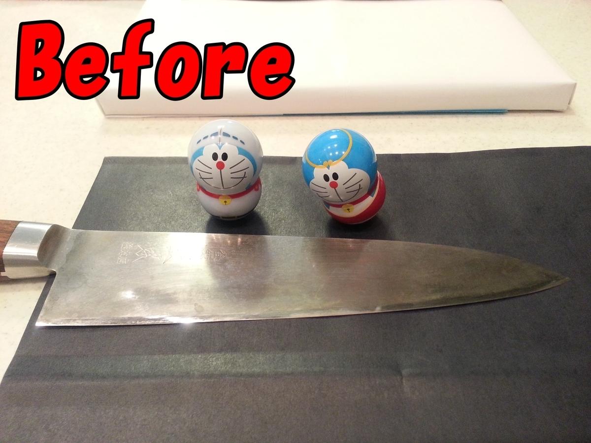 鋼 包丁 研磨前