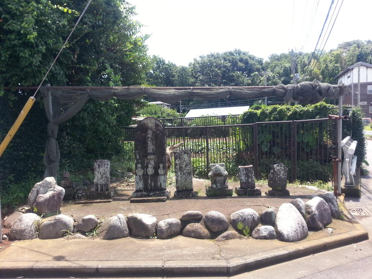 四ッ谷の石仏