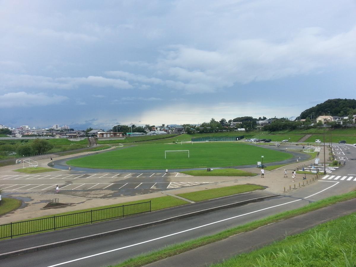 下飯田遊水地 サッカー場