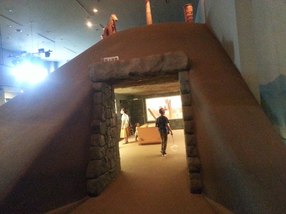 多摩川台公園 古墳展示室