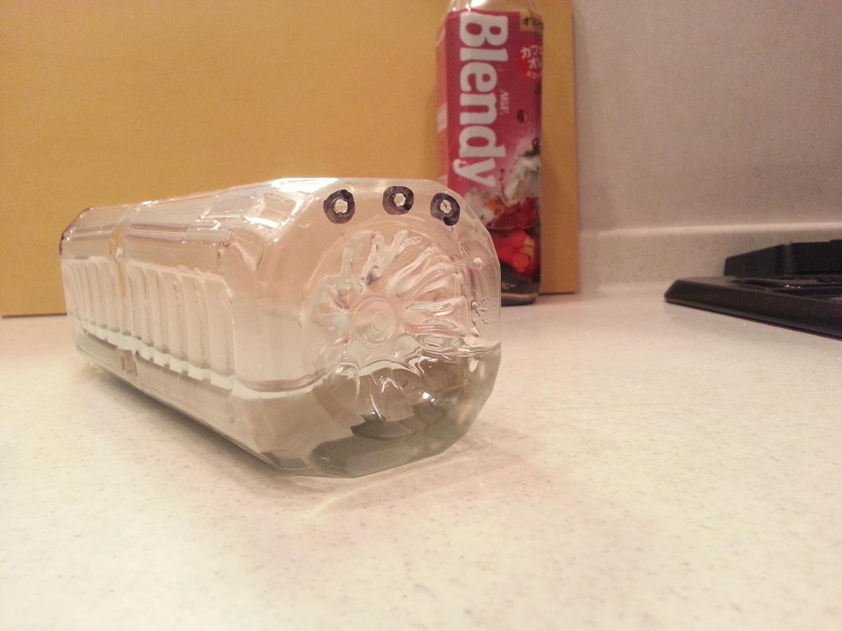 砥石浸水ボトル