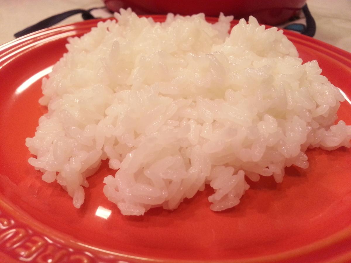 ルクルーゼ鍋ココットロンド ご飯の炊き方