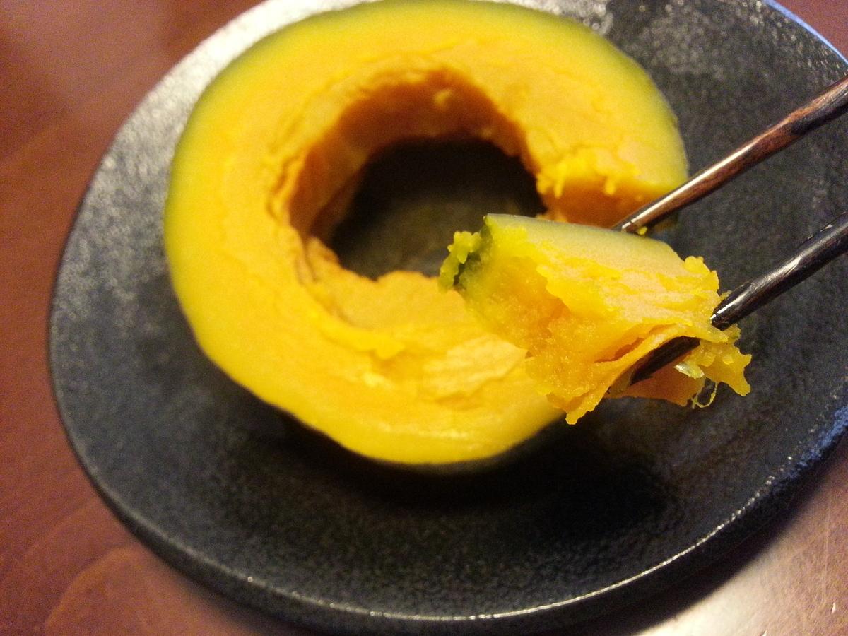 八ヶ峰カボチャの煮物