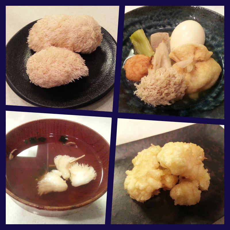 ヤマブシタケ レシピ