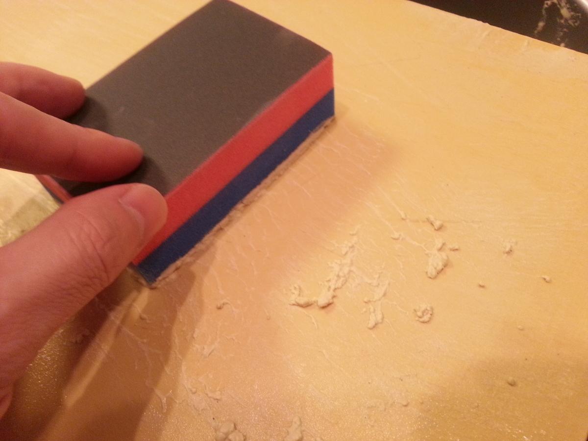 アサヒクッキンカット まな板削り 実践