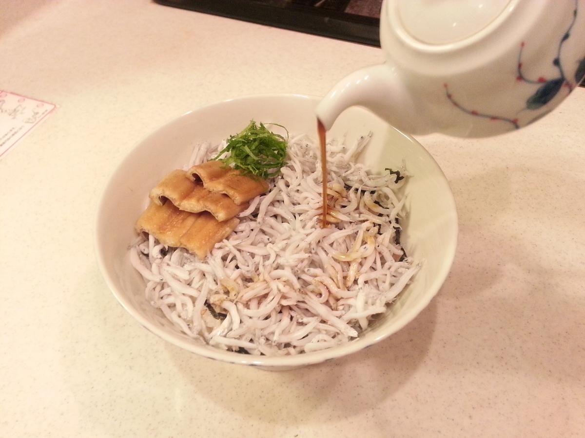 煎り酒 シラス丼 レシピ