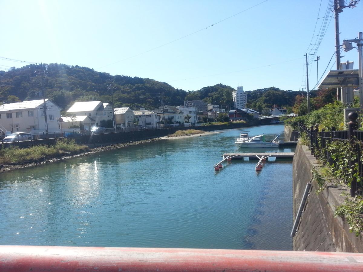 逗子海岸回廊コース ウォーキング 富士見橋