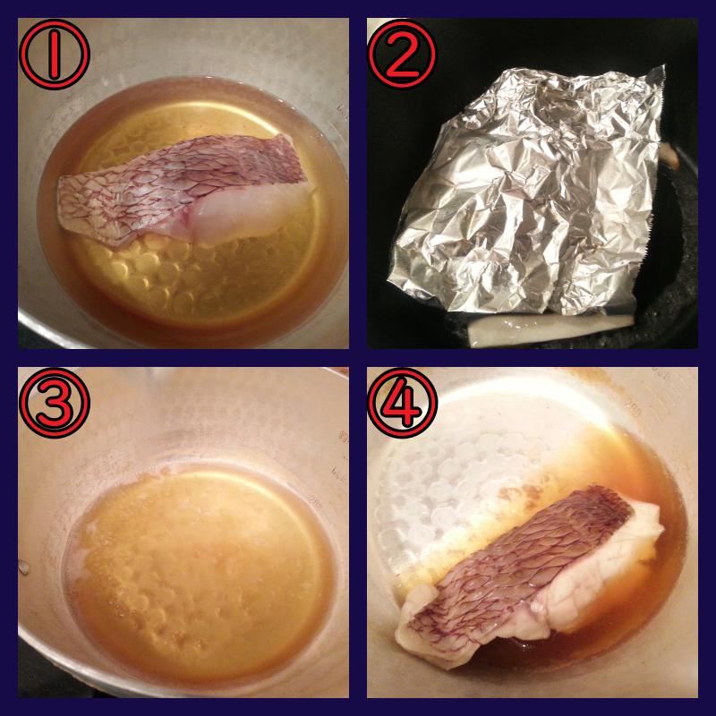 煎り酒 煮魚