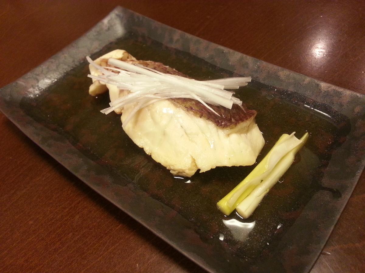 煎り酒 魚の煮物