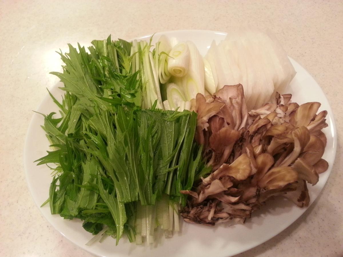 しゃぶしゃぶの具 野菜