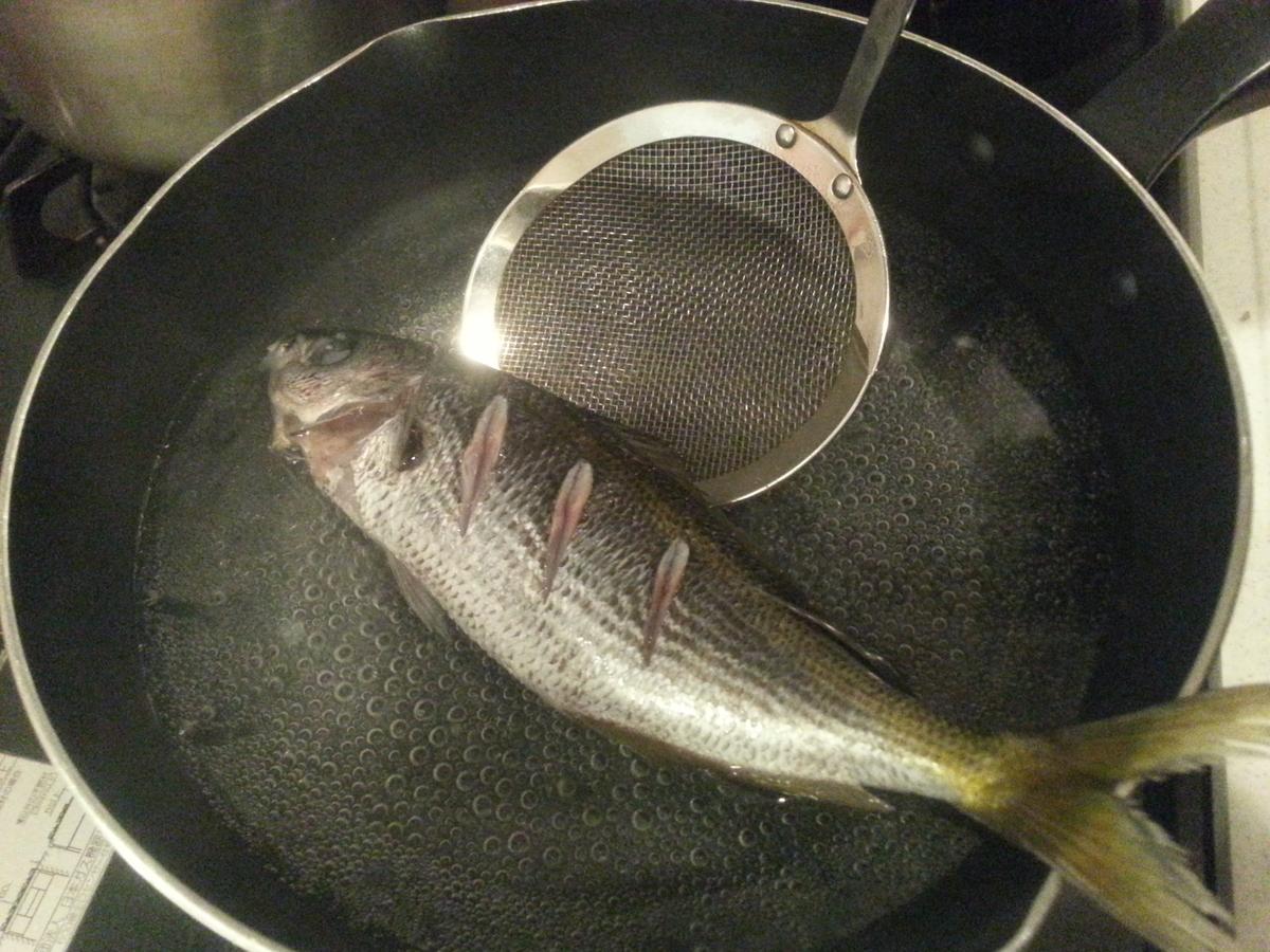 タカベの煮付け 作り方
