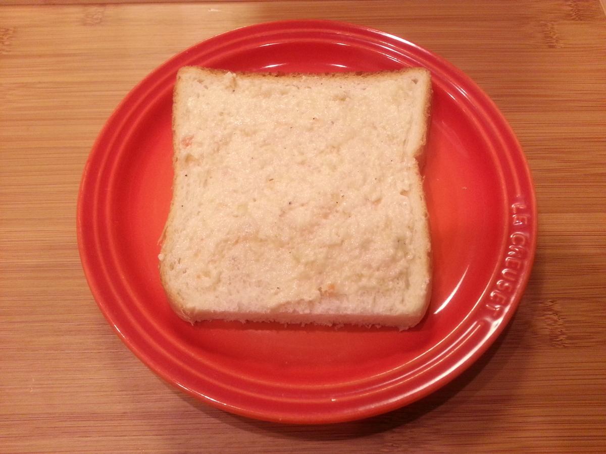 信州サーモンクリームチーズディップ トースト