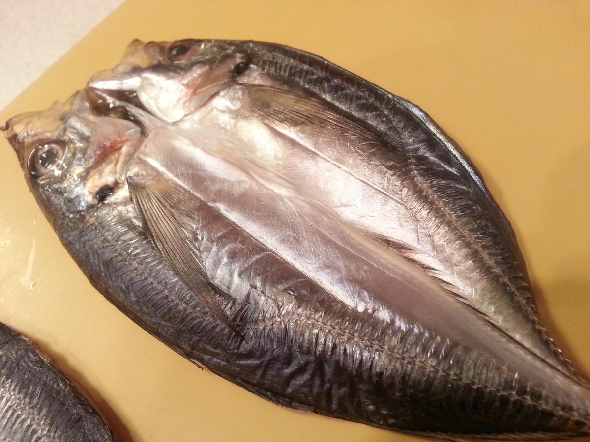 魚の干物 冷蔵庫で作ったモノ