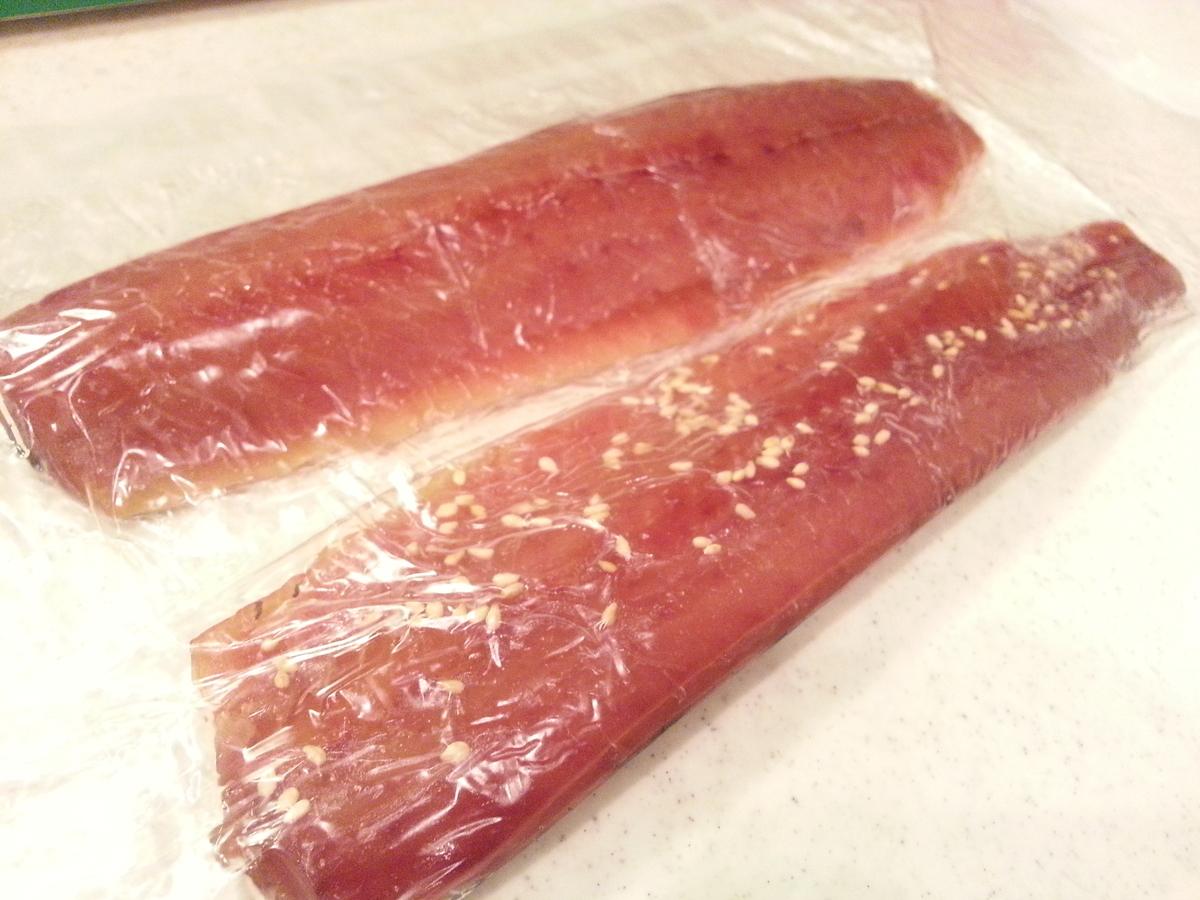 ピチットで魚の味醂干しを作る