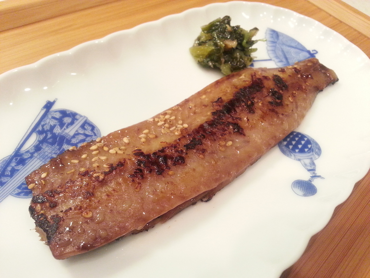 ピチットで作る魚の味醂干し