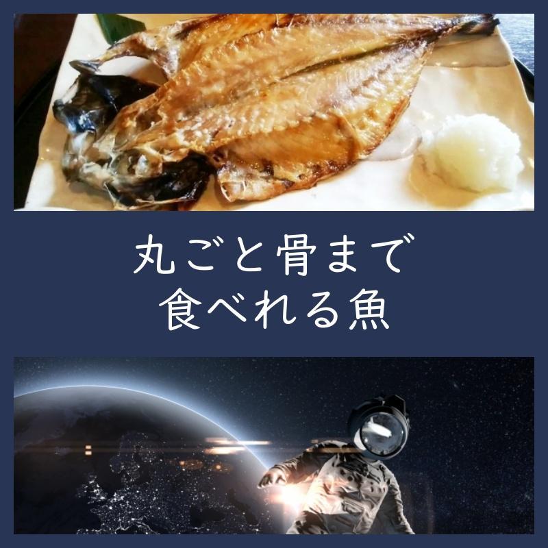 丸ごと骨まで食べれる魚の取り寄せ通販