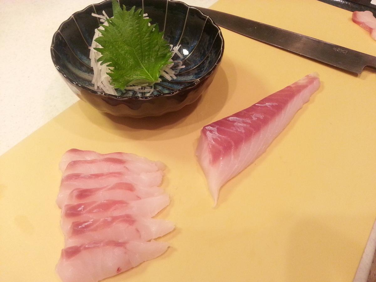 山内鮮魚店 真鱈の刺身