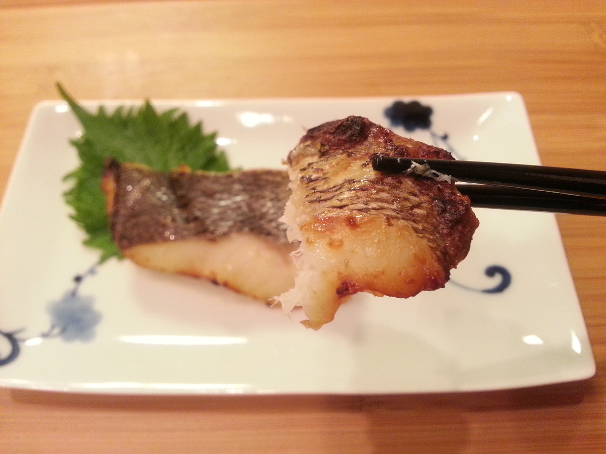 黒ソイ 味噌漬け焼き