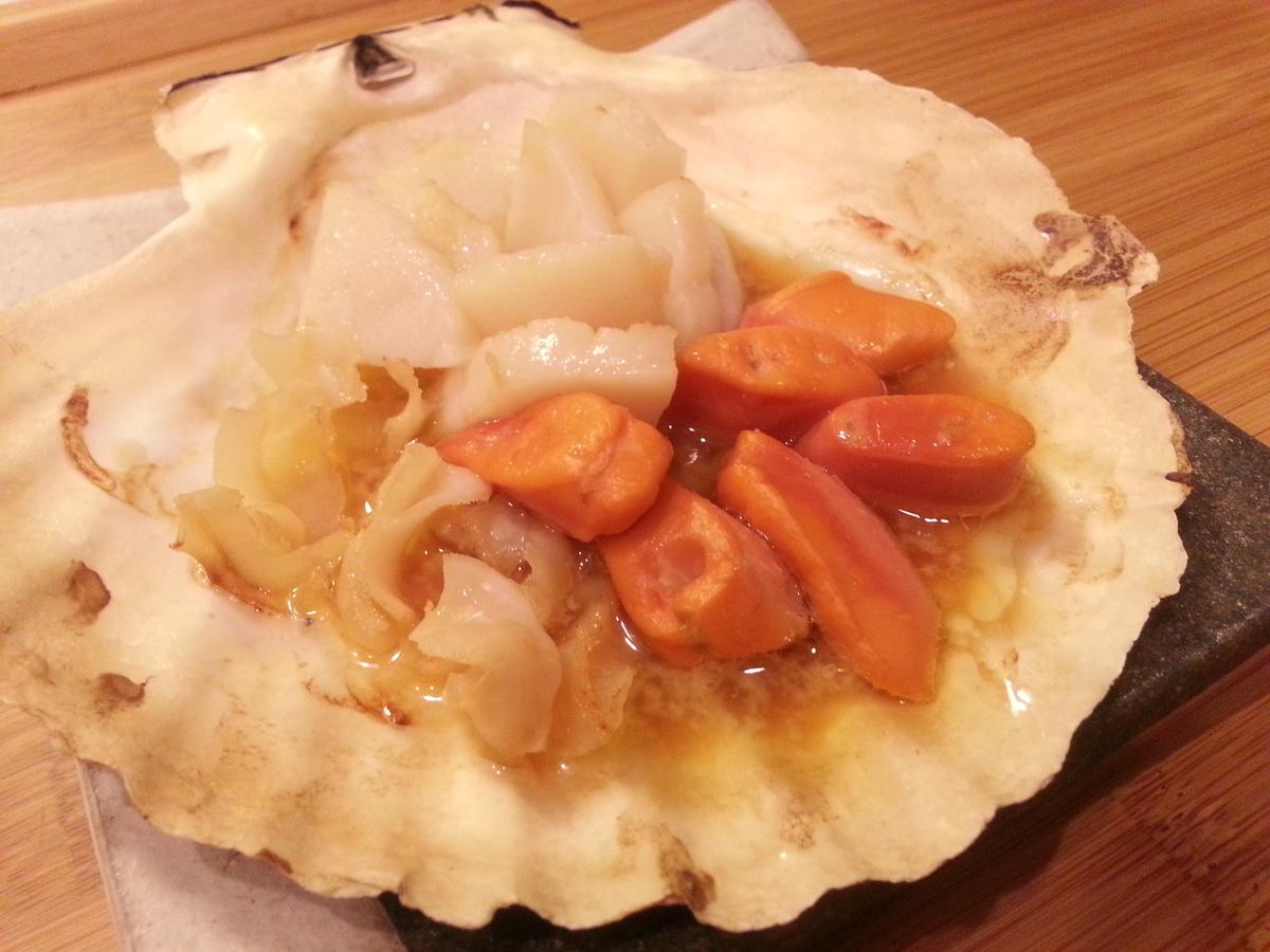 山内鮮魚店 ホタテのバター焼き