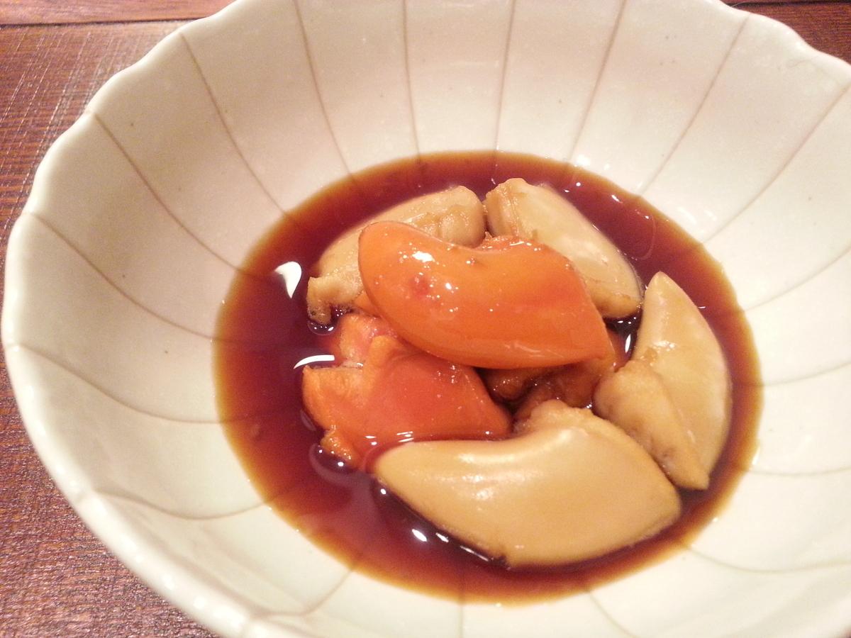 ホタテの肝の煮付け 作り方