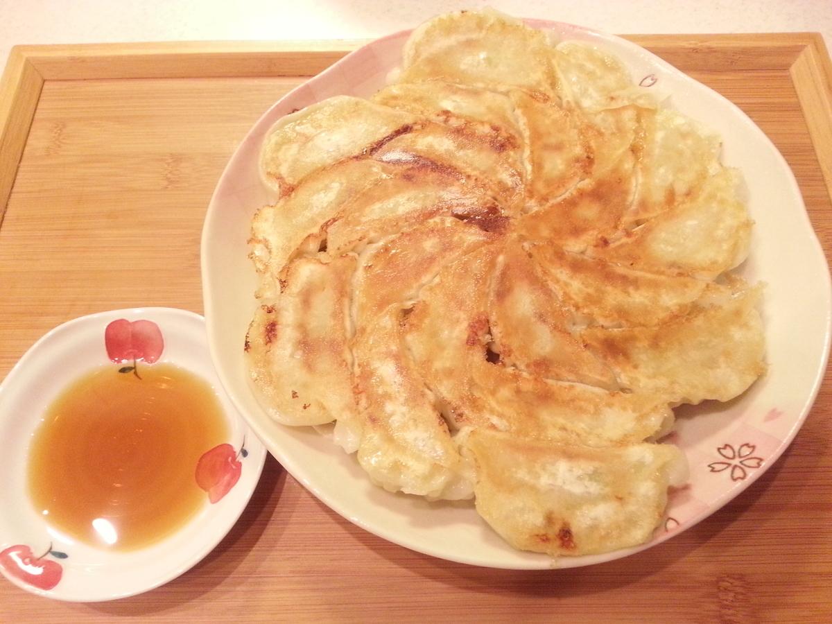 浜松の石松餃子 焼き方