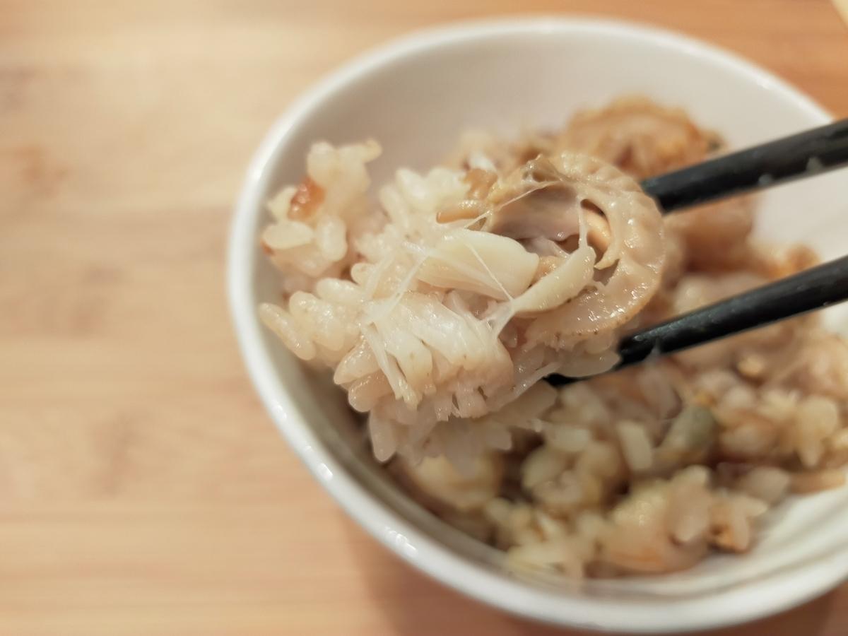 ベビーホタテの炊き込みご飯 作り方