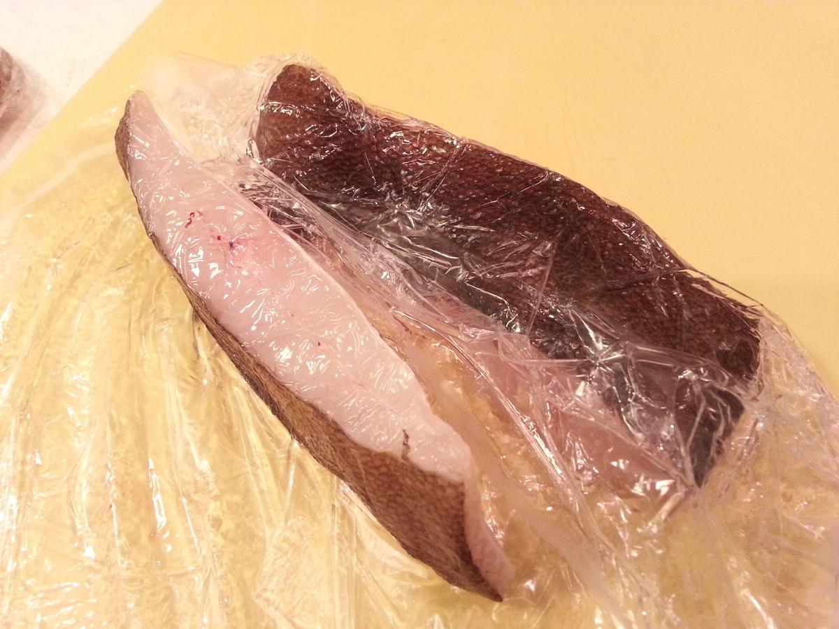 ピチットで魚の干物作り方