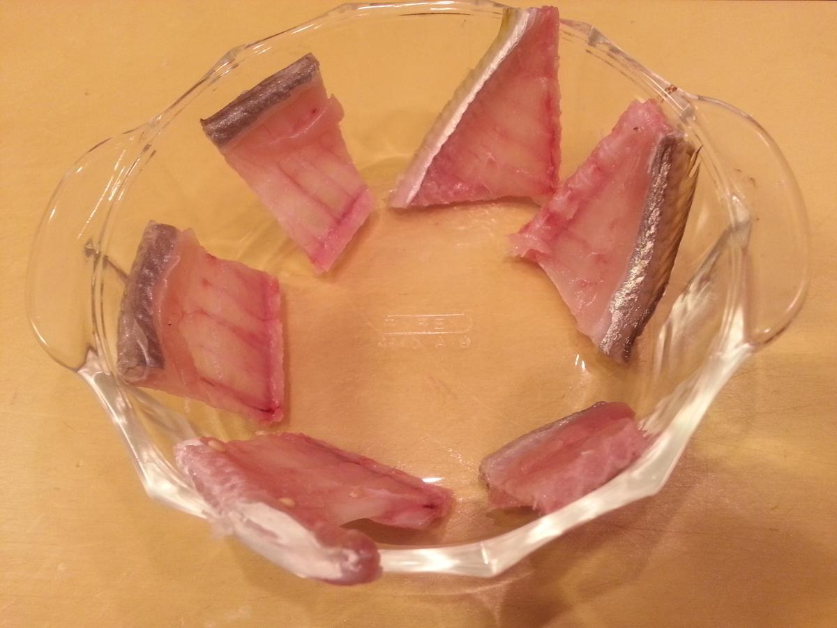 魚の骨せんべい作り方