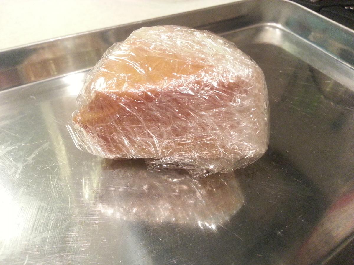 燻製シートでチーズ