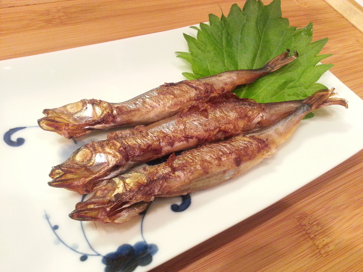 燻製シート 焼き魚