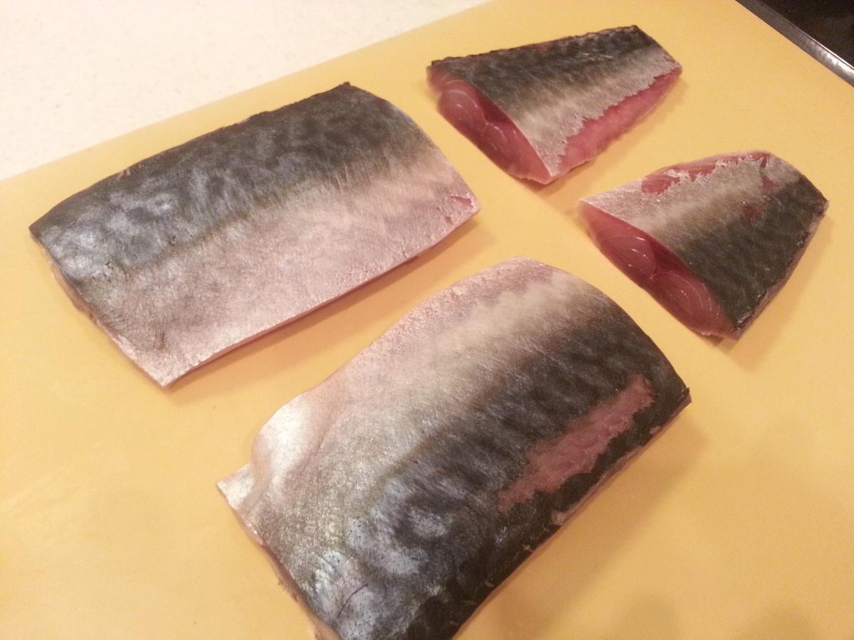 鯖の酢締め