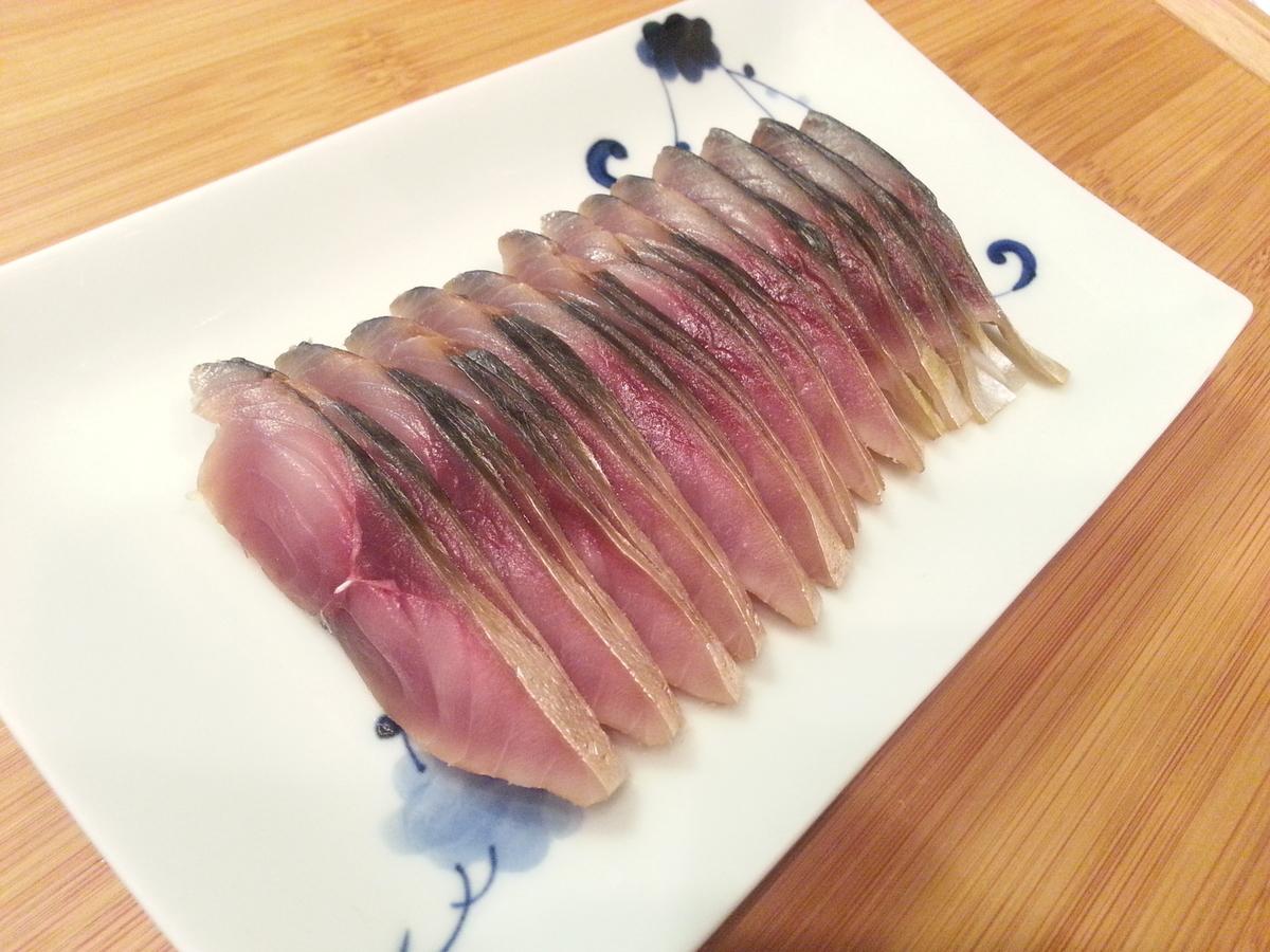 自宅で作る鯖の冷燻