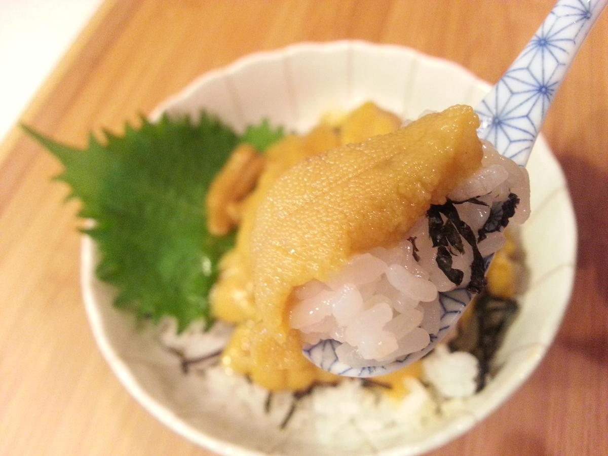 山内鮮魚店「天然生うに」うに丼