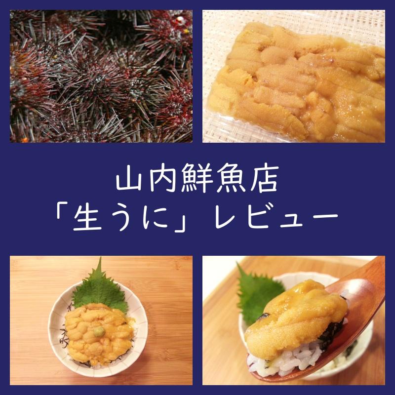 お取り寄せ通販 山内鮮魚店「生ウニ」レビュー