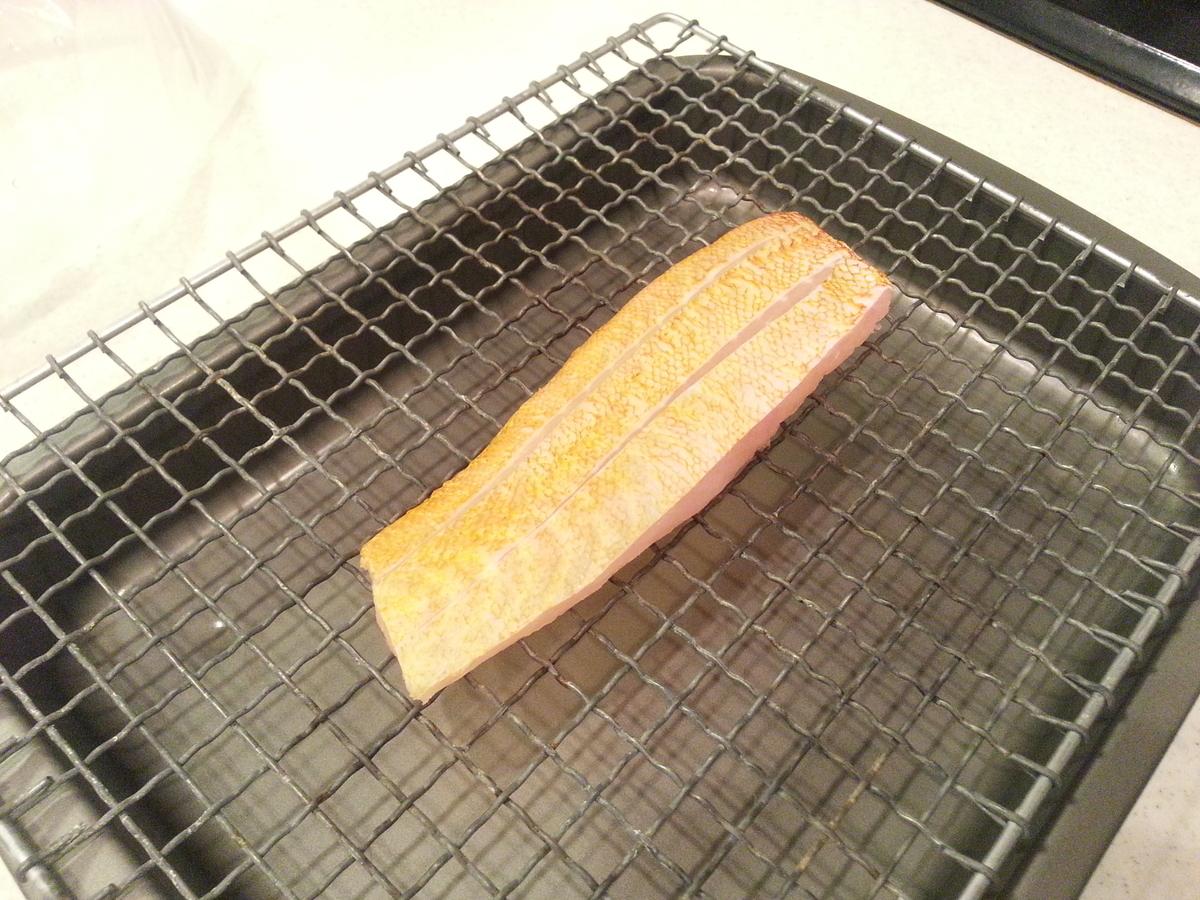 アカハタの炙り(焼き霜造り)作り方